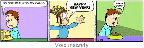 Void insanity: Insanity in individuals is something rare - but in groups, parties, nations and epochs, it is the rule.