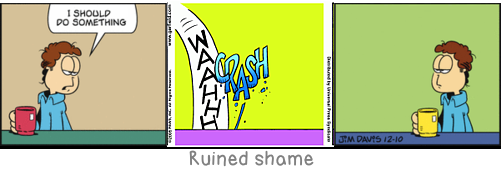 Ruined shame: Shared joys make a friend, not shared sufferings.